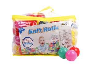 Műanyag labda 100 darabos készlet - 6 cm 31035978