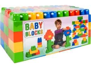 Baby Blocks Építőjáték 54db 31032520 Fejlesztő játék babáknak