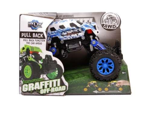 Graffiti Off- Road terepjáró Autó - 15cm #kék-szürke