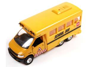 Zenélő iskolabusz - 15 cm 31041881 Modell, makett