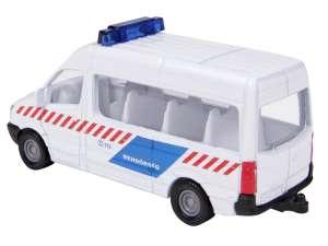 SIKU Mercedes-Benz rendőr kisbusz 1:87 - 0806 31035004 Modell, makett
