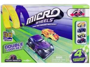 Micro Wheels halálkanyar Autópálya készlet 31030470 Autópálya, parkolóház