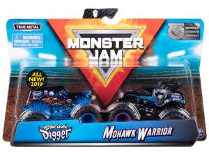 Monster Jam Autó - 9cm #kék 31035093 Autós játékok, autó, jármű