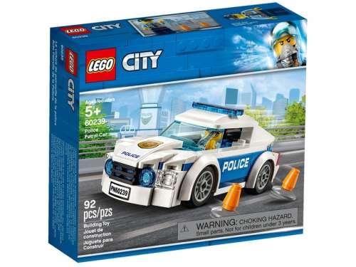 LEGO® City Rendőrségi járőrkocsi 60239