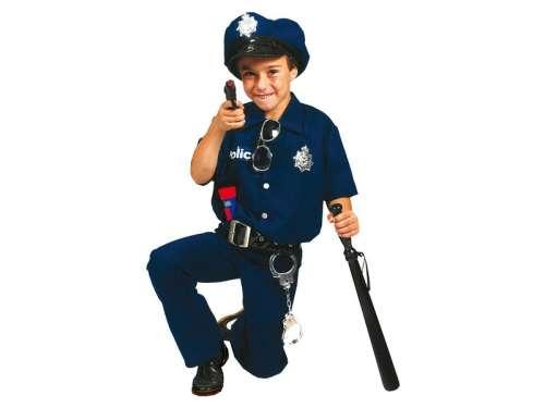 Gyerek Jelmez - Rendőr #kék