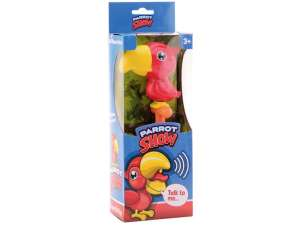 Interaktív Plüss 20cm- Papagáj #sárga-piros 31041152 Interaktív plüss