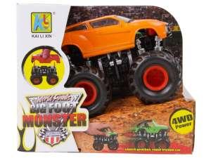 Big Foot Monster Autó - 12cm #sárga 31035619 Autós játékok, autó, jármű