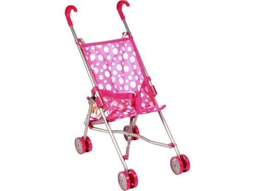 Játék sport babakocsi - Pöttyös #rózsaszín