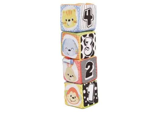 Kocka Játék 4db - Állatok