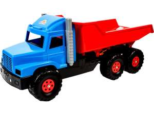Játék Dömper 80cm #kék-piros