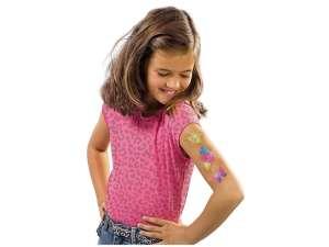 Divatos csillámtetoválás készlet 31026706 Tetoválás