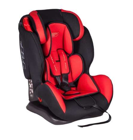 Summer Baby Malaga biztonsági Gyerekülés 9-36kg #piros-fekete 30972998