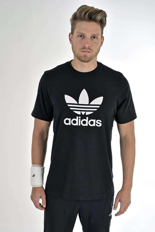 Adidas Originals Trefoil férfi Póló #fekete | Pepita.hu