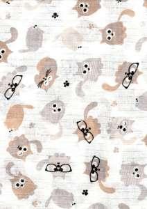 Textil pelenka 1db - Cica #fehér 30982193 Textil pelenka