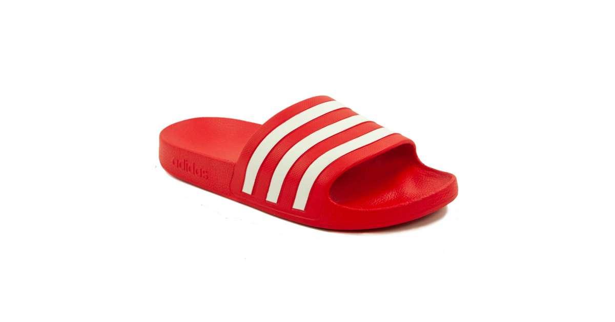 Adidas Adilette Aqua férfi Papucs #piros | Pepita.hu