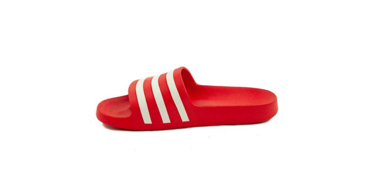 Adidas Adilette Aqua férfi Papucs #piros