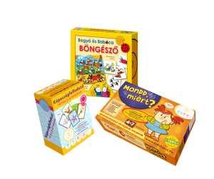 Ovis Társasjáték csomag Kidsfocus + Bogyó és Babóca 30982368 Társasjáték