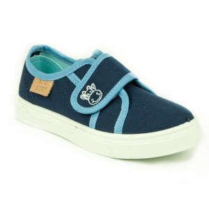 D.D.Step fiú Vászoncipő - Boci #kék 31248055 Utcai - sport gyerekcipő
