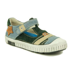 D.D.Step fiú Utcai cipő #kék-zöld 31247835 Utcai - sport gyerekcipő