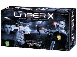 Laser-X infravörös pisztoly 2 darabos készlet 31031551 Játékpuska, töltény