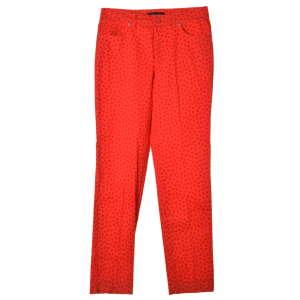 Chiara Dalba piros, lepke mintás női nadrág – 42 IT 31069459 Női nadrág