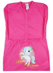 Unicorn Queen - vállfás oviszsák - pink 30985277 Ovis zsák