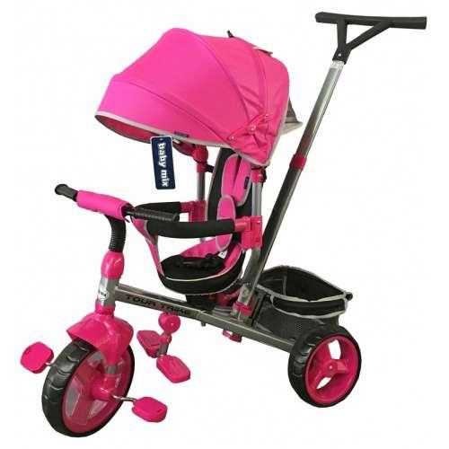 Baby Mix Tour Trike 360°-ban fordítható Tricikli #pink 30986758