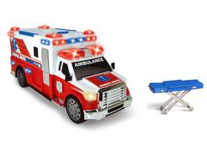 Dickie Ambulance Autó - 33cm #piros-fehér 31038539 Autós játékok, autó, jármű