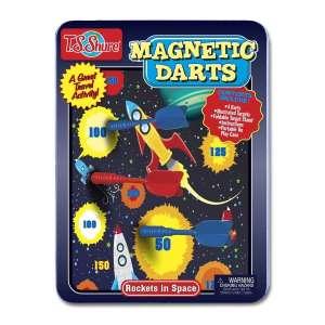 Mágneses Darts szett - Rakéták 30990317 Darts tábla és kiegészítő