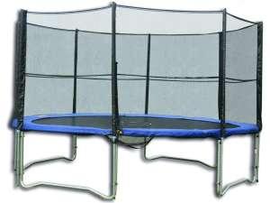 Trambulin külső védőhálóval 244cm #kék 31032288 Trambulin