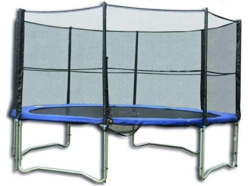 Trambulin külső védőhálóval 244cm #kék
