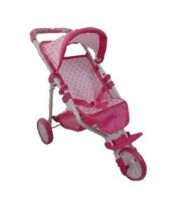 Baby Mix háromkerekű Játék babakocsi #rózsaszín 30992013 Játék babakocsi