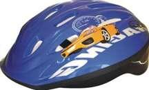 Baby Mix biztonsági Sisak 52-55cm #kék 30992022 Kerékpárok