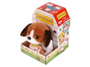 Interaktív Plüss 20cm -Beagle kutyus 31026059 Interaktív plüss