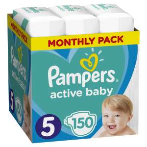 Pampers Active Baby havi Pelenkacsomag 11-16kg (150db) 30994664 Pelenka