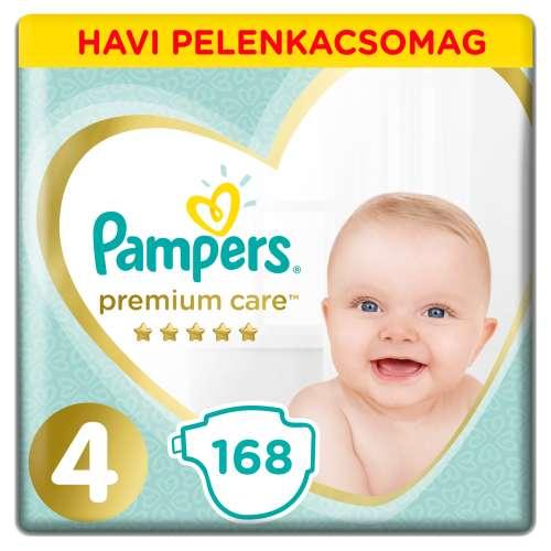 Pampers Premium Care havi Pelenkacsomag 9-14kg Maxi 4 (168db) 31019399