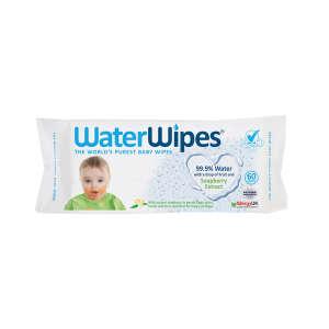 WaterWipes Szappanbogyó Kivonattal Ellátott Természetes Törlőkendő 60db 30998067 Törlőkendő