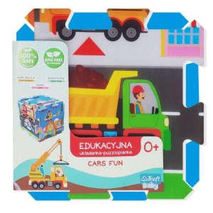 Járművek móka szivacs puzzle 31002224 Szivacs puzzle