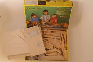 Fa építőjáték - Parasztház 31002345 Fa építőjáték