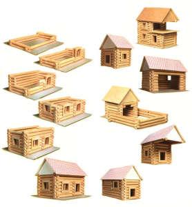Vario fa építőjáték 72 db-os 31002350 Fa építőjáték
