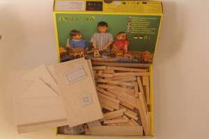 Fa építőjáték - Magtár 31002363 Fa építőjáték