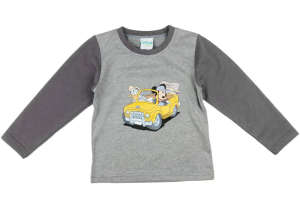 """Disney Hosszú ujjú póló - Mickey Mouse #szürke 31002380 A Pepitán ezt is megtalálod: """"Mickey"""" 18 kategóriában"""