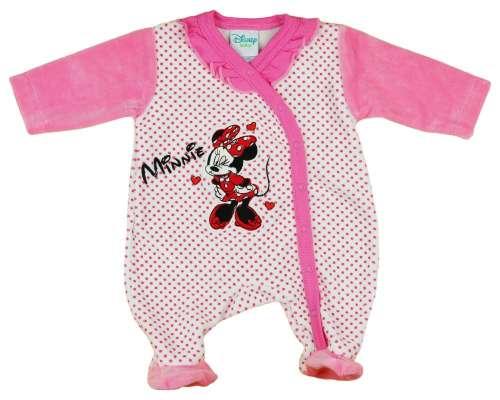 Disney hosszú ujjú Rugdalózó - Minnie Mouse #rózsaszín
