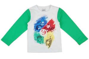 """Hosszú ujjú póló - Bosszúállók #fehér-zöld 31002712 A Pepitán ezt is megtalálod: """"avengers"""" 5 kategóriában"""