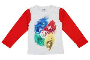 """Hosszú ujjú póló - Bosszúállók #fehér-piros 31002726 A Pepitán ezt is megtalálod: """"avengers"""" 5 kategóriában"""
