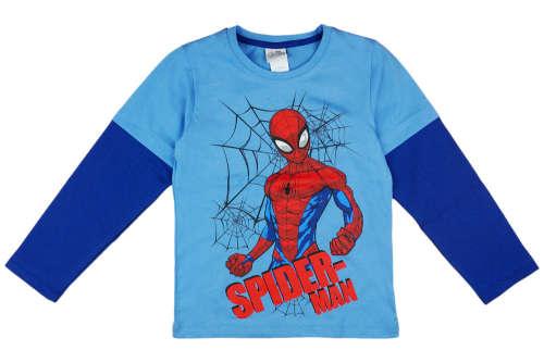 Hosszú ujjú póló - Pókember #kék