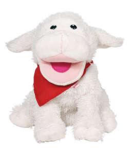 Kézbáb 23cm - Bárány #fehér 31003290 Báb játék