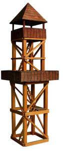 Fa építőjáték - Kilátó 31003364 Fa építőjáték
