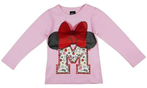 Disney Hosszú ujjú póló - Minnie Mouse #rózsaszín