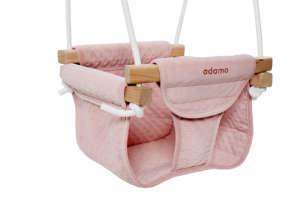 Adamo Junior babahinta - Rózsaszín 31007684 Beltéri hinta, hintaágy, babahinta